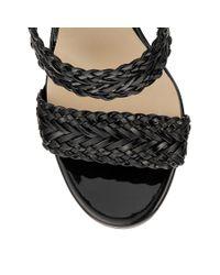Jimmy Choo - Black 'lima 110' Sandals - Lyst