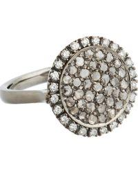 Roberto Marroni - White Diamond Three-Face Ring - Lyst