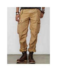 Denim & Supply Ralph Lauren - Natural Slim-fit Field Cargo Pant for Men - Lyst