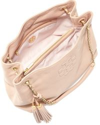 Tory Burch - Pink Thea Slouchy Chainstrap Tote Bag - Lyst
