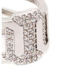 Rebecca | Metallic 'elizabeth' Ring | Lyst