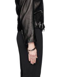 Givenchy - Metallic Cross Pendant Chain Bracelet - Lyst