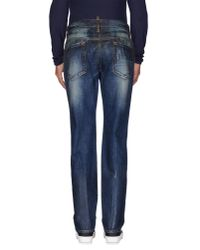 DSquared² | Blue Denim Trousers for Men | Lyst