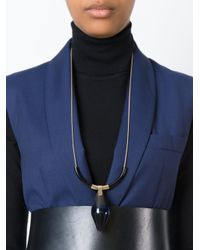 Marni | Metallic 'runway' Sautoir Necklace | Lyst