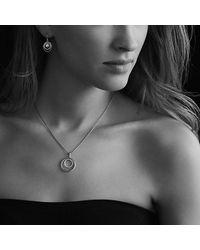 David Yurman - Yellow Small Pave Diamond Mobile Necklace - Lyst