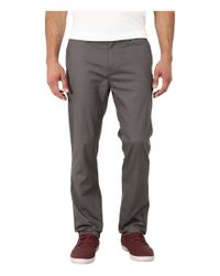 Quiksilver | Gray Union Pant for Men | Lyst