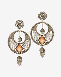 DANNIJO | Yellow Iva Chandelier Earrings | Lyst