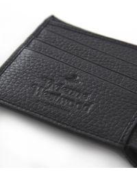 Vivienne Westwood - Black Punk Grained Leather Orb Wallet for Men - Lyst