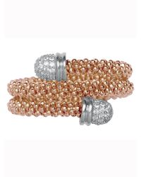 Links of London | Metallic Star Dust Rose Gold Wrap Ring | Lyst