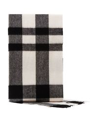 Reiss | Gray Hamish Checked Wool Scarf for Men | Lyst