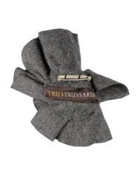 Tru Trussardi | Gray Brooch | Lyst