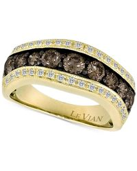 Le Vian - Metallic Chocolatier® Diamond Ring (1-1/3 Ct. T.w.) In 14k Gold - Lyst
