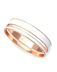 Tuleste - Pink Two-piece Channel Bangle Set - Lyst