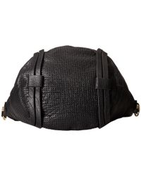 She + Lo - Black Rise Above Zip Bucket - Lyst