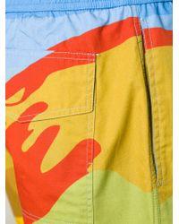 J.W.Anderson | Multicolor Landscape Print Swim Shorts for Men | Lyst