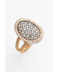 Alor | Pink Diamond Cocktail Ring - Blush | Lyst