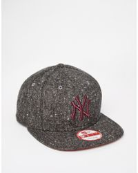 KTZ | Gray 9fifty Ny Snapback Cap for Men | Lyst