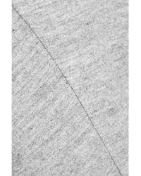 Jil Sander - Gray Wool And Angora-Blend Skirt - Lyst
