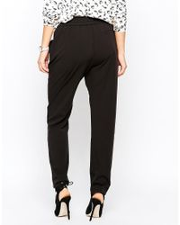 Mango | Black Slouchy Trousers | Lyst