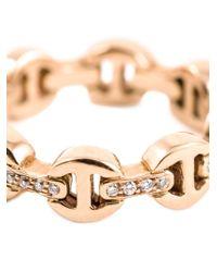 Hoorsenbuhs - Pink 'tri-link' Ring - Lyst