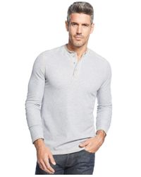Tommy Bahama | Gray Grand Thermal Henley for Men | Lyst