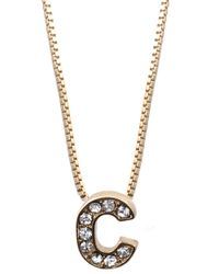 Anne Klein - Metallic Goldtone Multi Layer Necklace - Lyst