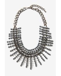 Nasty Gal | Metallic Leanna Collar Necklace | Lyst