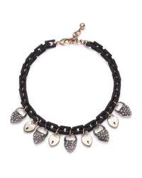 Lulu Frost - Blackheart Lock Necklace - Lyst