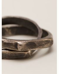 Henson   Metallic 'infinity' Ring   Lyst