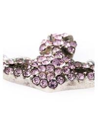 Vivienne Westwood | Metallic Crystal Orbit Bracelet | Lyst
