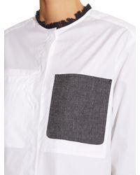 Sportmax | White Prato Shirt | Lyst