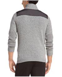 BOSS Green - Gray Sweater 'zem' In Wool Blend for Men - Lyst