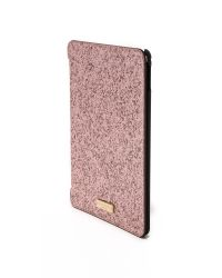 kate spade new york - Pink Glitter Bug Ipad Air 2 Folio Hardcase - Lyst