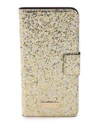 kate spade new york - Metallic Glitter Bug Ipad Mini 2/3 Folio Hardcase - Rose - Lyst