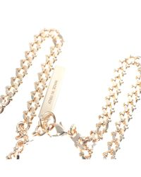 Givenchy - Metallic Gold Small Shark Tooth Necklace - Lyst