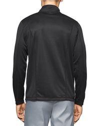 Calvin Klein | Black Mesh Peformance Pullover for Men | Lyst