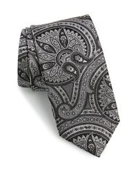 JZ Richards | Black Silk Tie for Men | Lyst