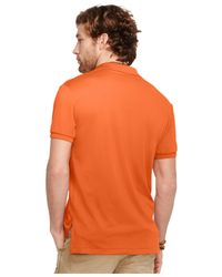 Polo Ralph Lauren | Orange Performance Mesh Polo Shirt for Men | Lyst