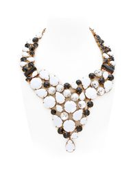 Halaby | Black Animalier Necklace | Lyst