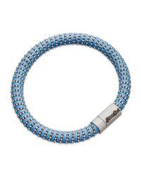 Carolina Bucci | Blue Twister Bracelet Silver | Lyst