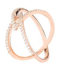 Carat* - Metallic Rose Gold Orion Millennium Ring - Lyst