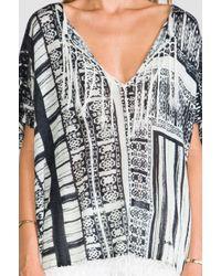 Twelfth Street Cynthia Vincent | Black Oversized Fringe Sweater  | Lyst