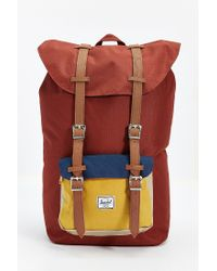 Herschel Supply Co. | Brown Little America Backpack for Men | Lyst
