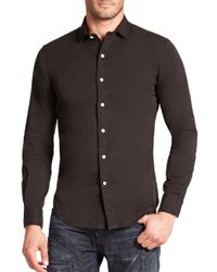 Polo Ralph Lauren | Black Slim-fit Twill Estate Sportshirt for Men | Lyst