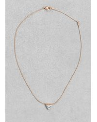 & Other Stories | Pink Stone Necklace | Lyst