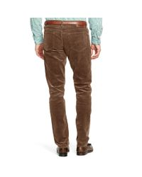 Polo Ralph Lauren - Brown Sullivan Slim-fit Corduroy for Men - Lyst