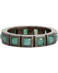 Nak Armstrong | Metallic Gemstone Band-colorless | Lyst