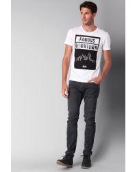 Esprit   White Printed T-shirt for Men   Lyst
