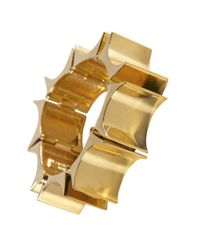 Lele Sadoughi | Metallic Gold Bracelet | Lyst