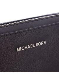 MICHAEL Michael Kors | Black Jet Set Crossbody Bag | Lyst